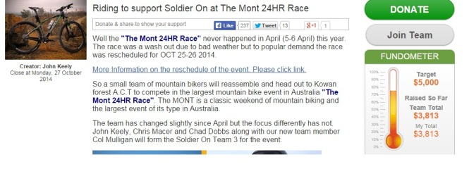 Mont Donation Page